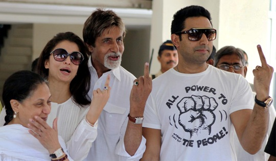 It's also a great opportunity to show the middle finger to Salman Khan