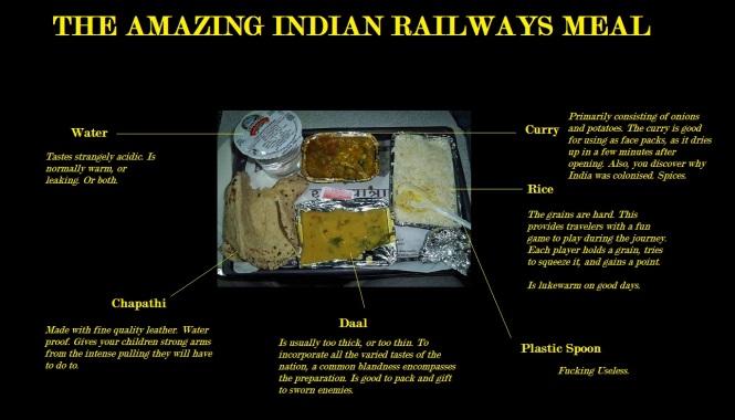 railways lunch