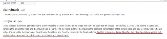Hey, it's on Wikipedia. Must be true!